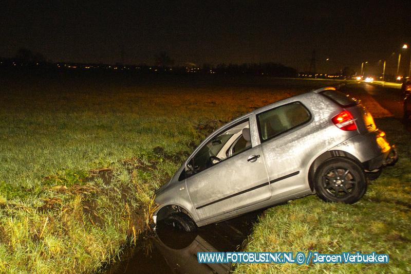 Ongevallen door gladheid in de polder.