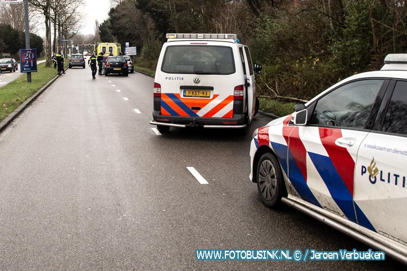 Ongeval tussen drie auto's Laan der Verenigde Naties Dordrecht.