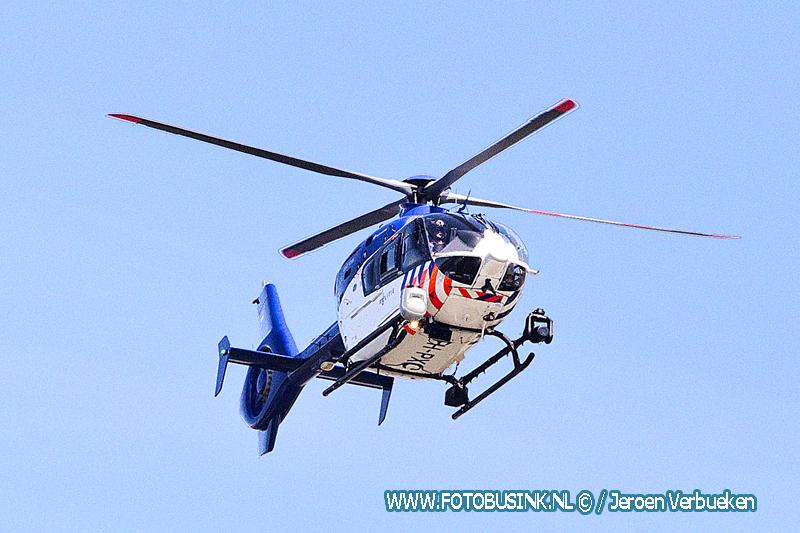 Politiehelikopter helpt in Dordrecht meezoeken naar overlastgevende man