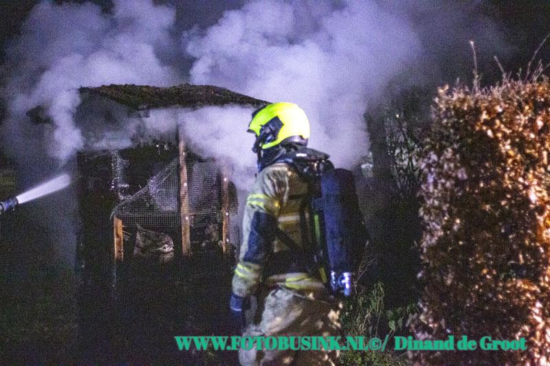 Insectenhotel in de brand gestoken bij het weetpunt aan het Develpad Zwijndrecht.