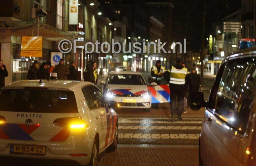 FC Dordrecht supporters bewaken de stad