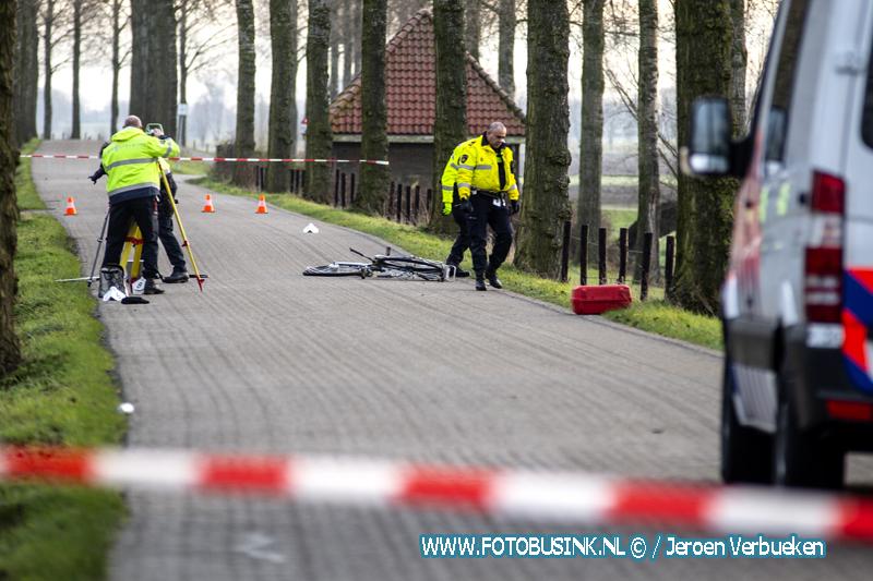 Fietsster zwaar gewond achtergelaten na ongeval aan de Zuidendijk in Dordrecht.