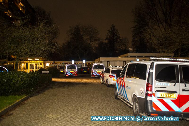 Melding steekpartij M.H. Trompweg in Dordrecht.