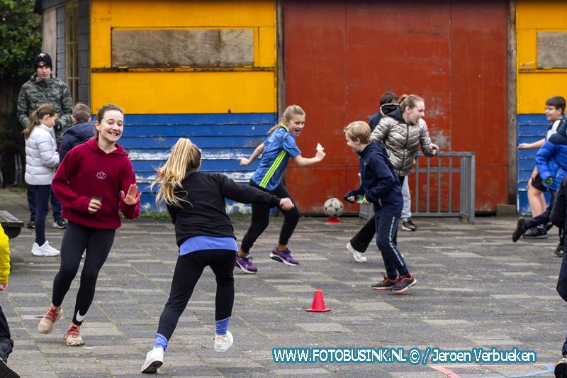 Sport en Speldag voor de kinderen van de Toermalijn in Zwijndrecht.