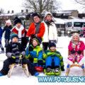 Sneeuwplezier op school.
