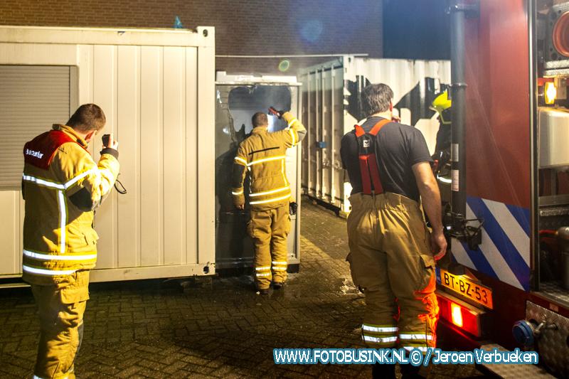 Twee branden binnen uur in wijk Sterrenburg in Dordrecht