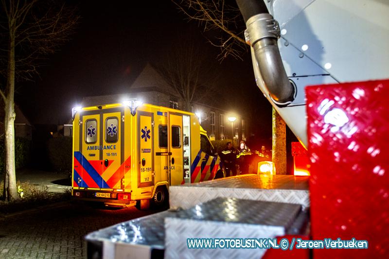 Woningbrand aan het Suze Groeneweg-erf in Dordrecht.