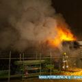 Flinke buitenbrand Einsteinstraat Dordrecht
