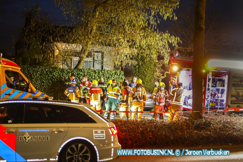 Dode na brand in woning van Hogendorpsingel Barendrecht.