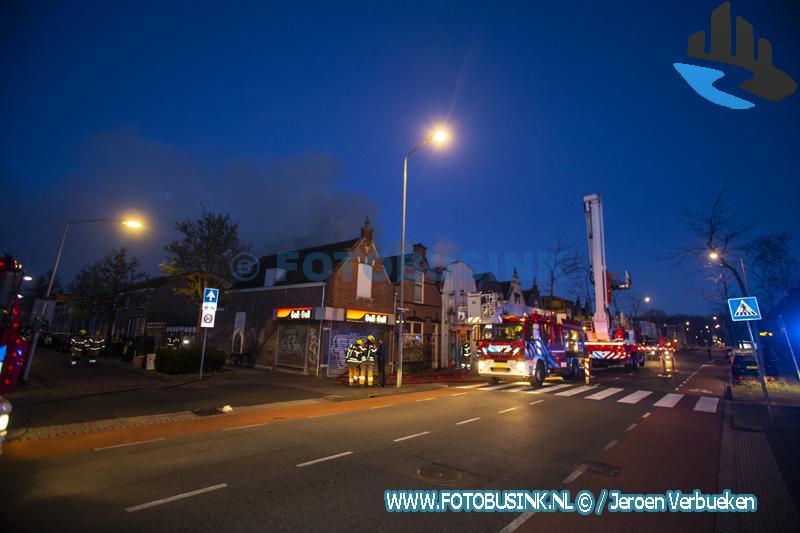 Grote uitslaande brand Sfinx Dordrecht