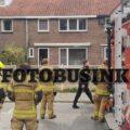 Bewoner aan de Willy Martensstraat in Dordrecht na brand gewond naar ziekenhuis.
