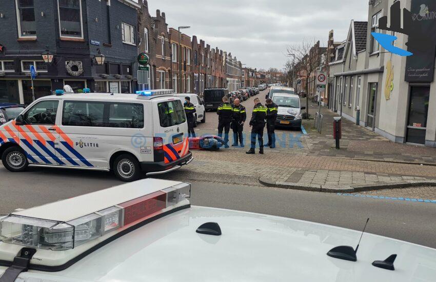 Ongeval letsel auto scooter Krispijnseweg in Dordrecht