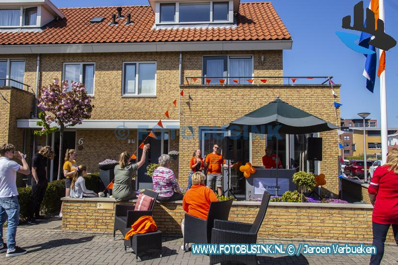 Regio kleurt oranje tijdens Koningsdag