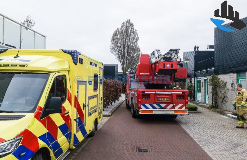Bewoner valt van dak aan de Pijnenburg in Dordrecht