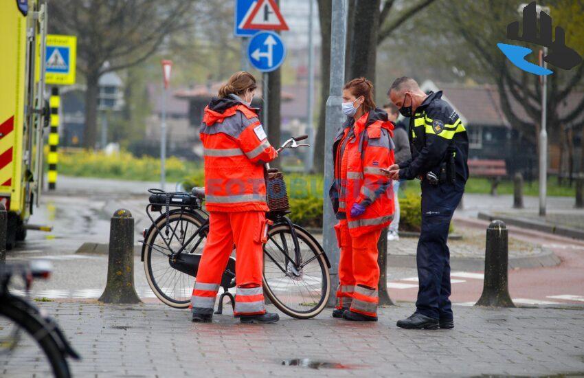 Ongeval letsel Plantageweg Alblasserdam Traumateam aanwezig
