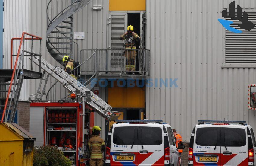 Brandweer opgeroepen voor brand bij Fokker in Papendrecht