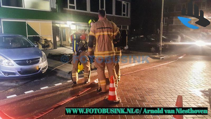 Grip 1 voor brand in kelder Gerard van Lomstraat Gorinchem
