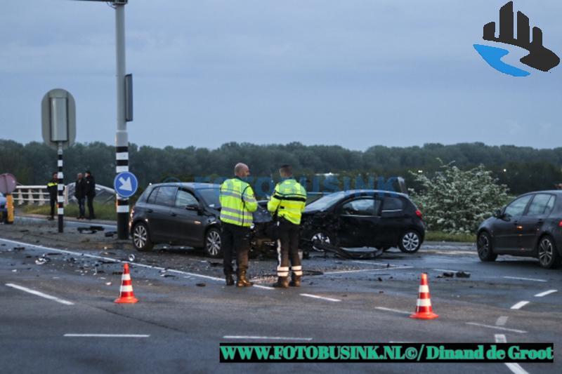 Ongeval met letsel aan de Spijksesteeg in Gorinchem.