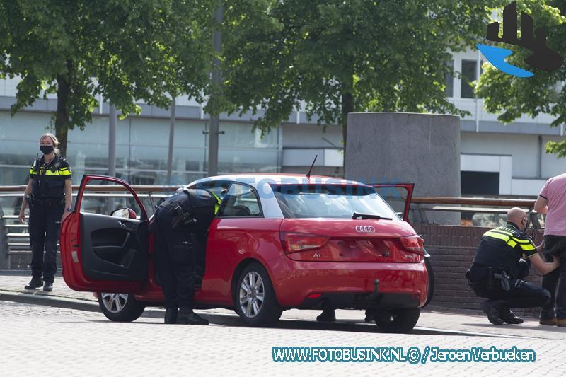 Preventieve fouilleeractie op de Spuibrug in Dordrecht