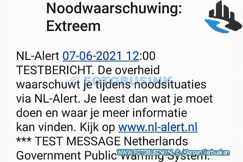 Landelijk Testbericht NL-Alert