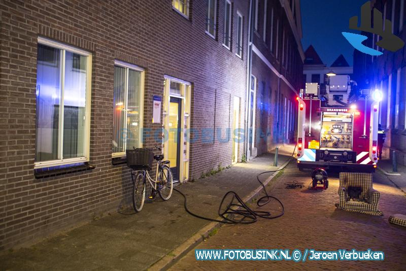 Stoel in brand bij ggz-instelling aan de Schrijversstraat in Dordrecht
