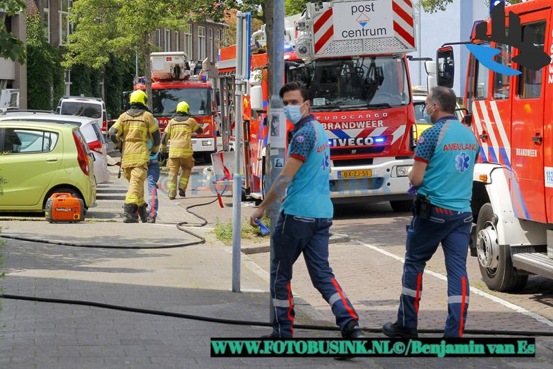 Keukenbrand in ouderencomplex aan de Billitonstraat in Dordrecht