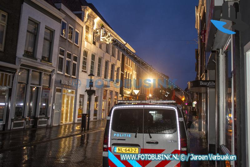 Hulpdiensten opgeroepen voor explosie in winkelpand in de binnenstad van Gorinchem.