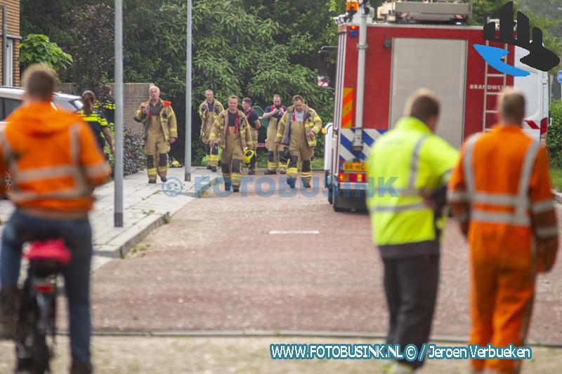 Brandweer opgeroepen voor gaslucht aan De Snel in Zwijndrecht