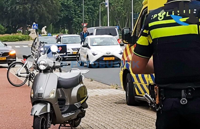 Ongeval fietser scooter Burg.Jansenlaan Zwijndrecht