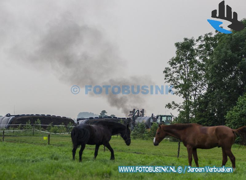 Brandweer opgeroepen voor brandgerucht in Oud-Alblas