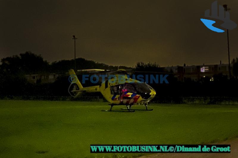 Traumahelikopter kan vanwege bewolking niet terug naar Rotterdam Airport