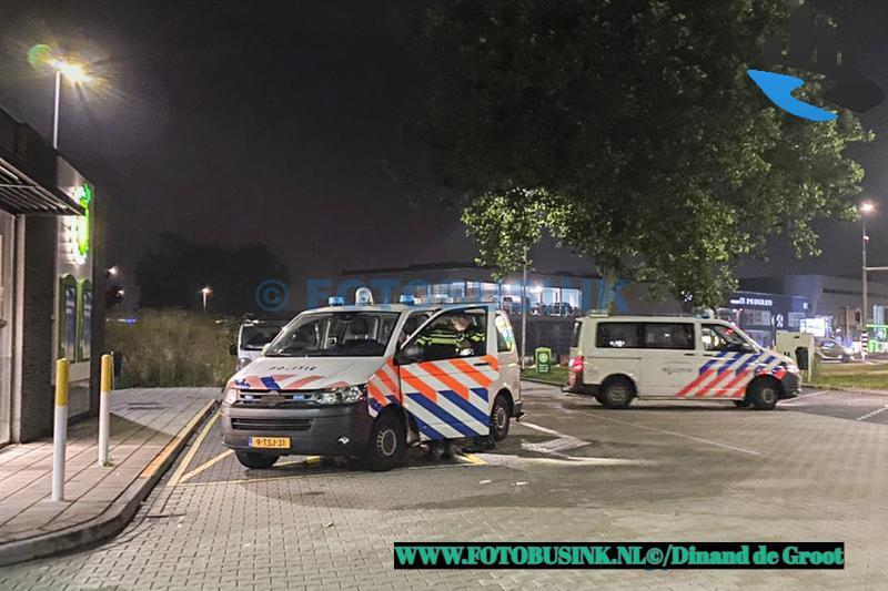 Twee aanhoudingen bij benzinestation BP aan de Laan Der Verenigde Naties in Dordrecht