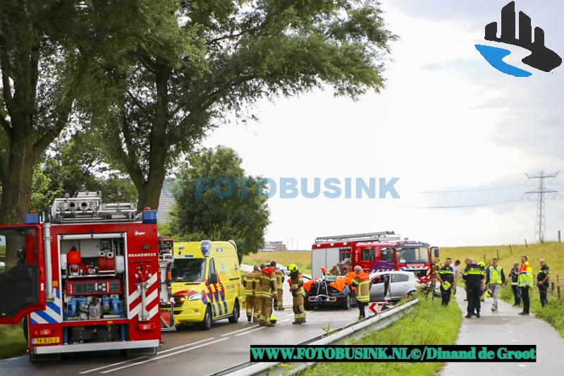Drie gewonden na ernstig ongeval N217 Nieuw-Beijerland