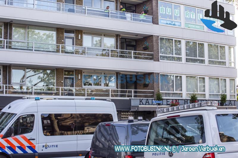 Groot politieonderzoek aan de Kapitein horsmanflat in Zwijndrecht