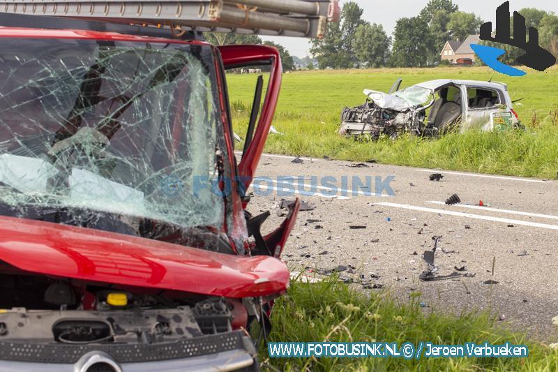 Ernstig ongeval aan de N482 bij Wijngaarden