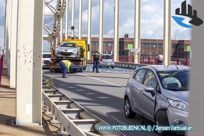 Aanrijding op de brug over de Noord
