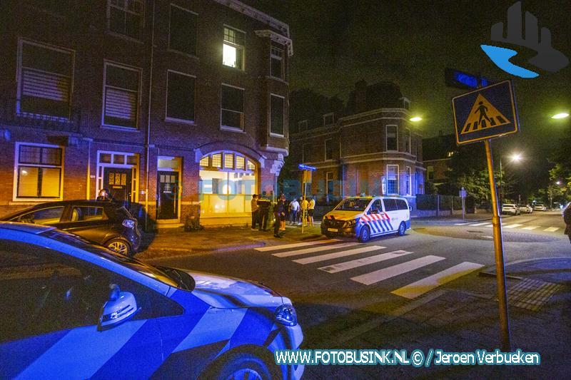 Hulpdiensten opgeroepen voor een steekpartij aan de Singel in Dordrecht