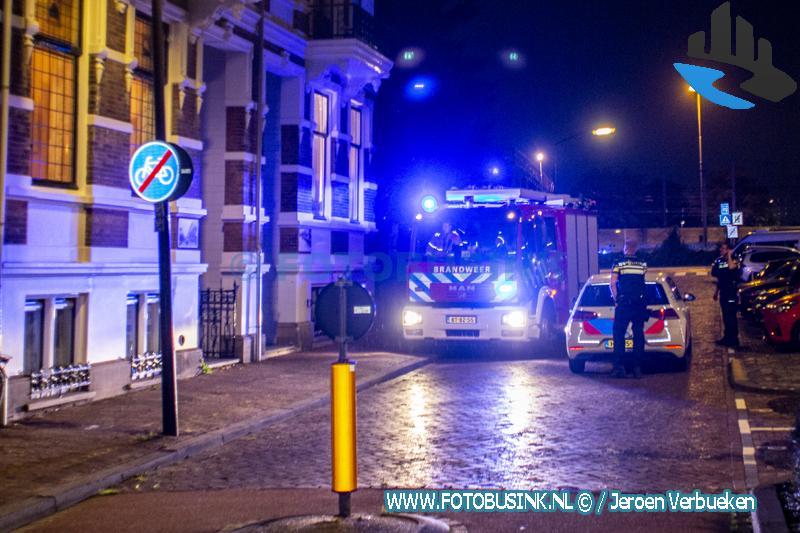 Brandweer opgeroepen voor woningbrand aan de Spuiweg in Dordrecht