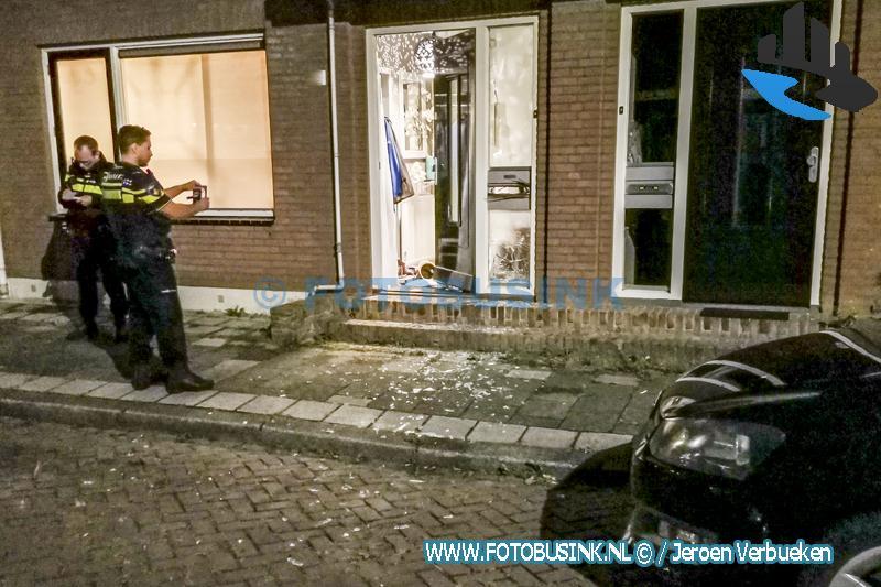 Aanslag explosie woning aan de Mecklenburgstraat in Dordrecht