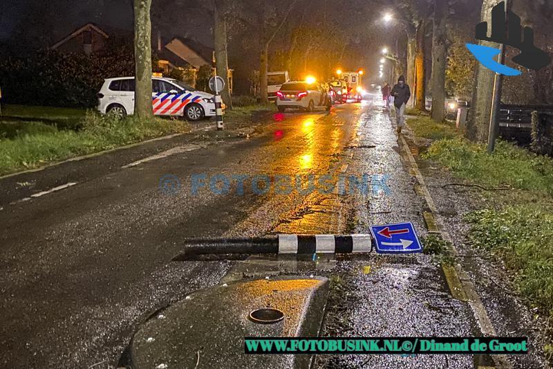 Dronken vrouw klap frontaal op politiebus aan de Rijksstraatweg in Dordrecht